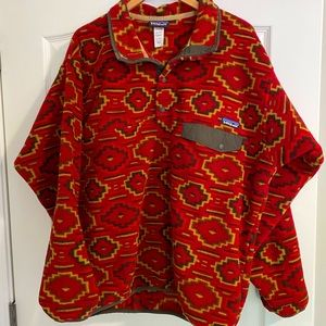 Men's Synchilla Snap-T Pullover in Aztec Print